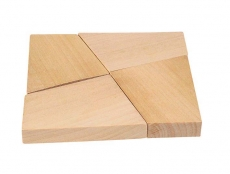 Knobelspiel Das magische Quadrat  im Baumwoll-Säckchen (Auslaufartikel)