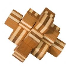 IQ-Test-Puzzle aus Bambus  Block ***