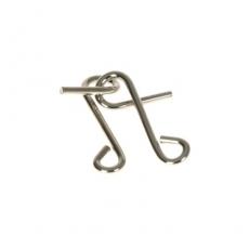 Metall-Knobelspiel Doppeltes S (IQ-Test)