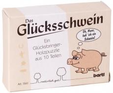 Glückspuzzle Das Glücksschwein