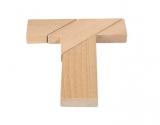Knobelspiel Das verflixte T  im Baumwoll-Säckchen