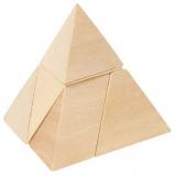 Knobelspiel Die Pyramide  im Baumwoll-Säckchen