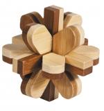 IQ-Test-Puzzle aus Bambus  Schneeball ****