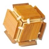 IQ-Test-Puzzle aus Bambus  Magische Box ***