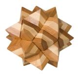 IQ-Test-Puzzle aus Bambus  Stern ****