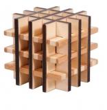 IQ-Test-Puzzle aus Bambus  Multi Square ***