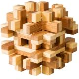 IQ-Test-Puzzle aus Bambus  Magic Blocks ****