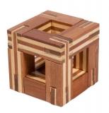 IQ-Test-Puzzle aus Bambus  Magic Frame ***