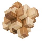 Bambus-Puzzle Block 2 ****  in Metalldose