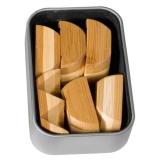 Bambus-Puzzle Ball ***  in Metalldose