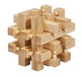 Bambus-Puzzle Verschlossen **  in Metalldose