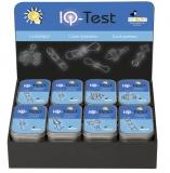 6x IQ-Test-Geduldspiel aus Metall  in Metalldose