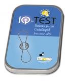 IQ-Test-Geduldspiel Schlaufen **  in Metalldose
