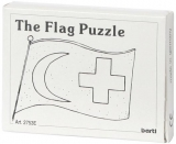 Mini-Holzpuzzle (englisch) The Flag Puzzle