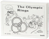 Mini-Holzpuzzle (englisch) The Olympic Rings