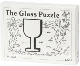 Mini-Holzpuzzle (englisch) The Glass Puzzle