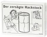 Mini-Knobelspiel  Der zersägte Hackstock *GRATIS