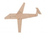 Mini-Holzpuzzle  Das Flieger-Puzzle
